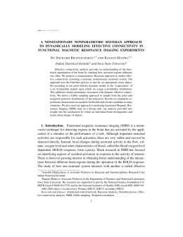 A NONSTATIONARY NONPARAMETRIC BAYESIAN APPROACH TO DYNAMICALLY MODELING EFFECTIVE CONNECTIVITY IN