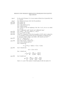 "ERRATA FOR""OBLIQUE DERIVATIVE PROBLEMS FOR ELLIPTIC EQUATIONS"" page 5"