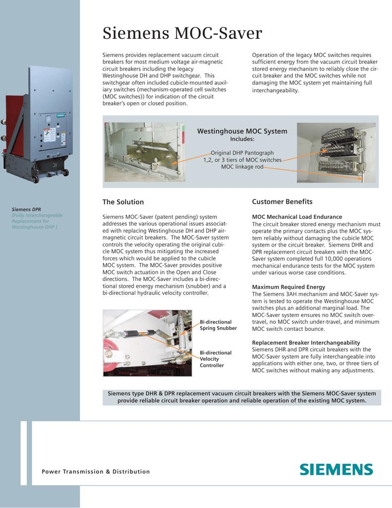 Siemens Moc Saver Power Circuit
