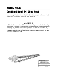 MWPS-72442 Confined Beef, 34' Shed Roof