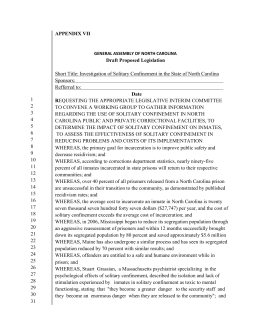 Draft Proposed Legislation APPENDIX VII