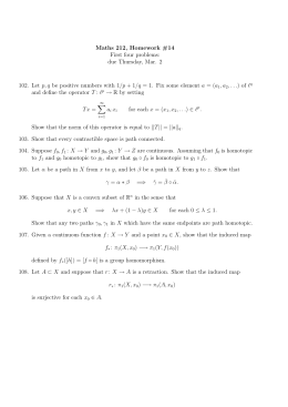 Maths 212, Homework #14 First four problems: due Thursday, Mar. 2 p, q