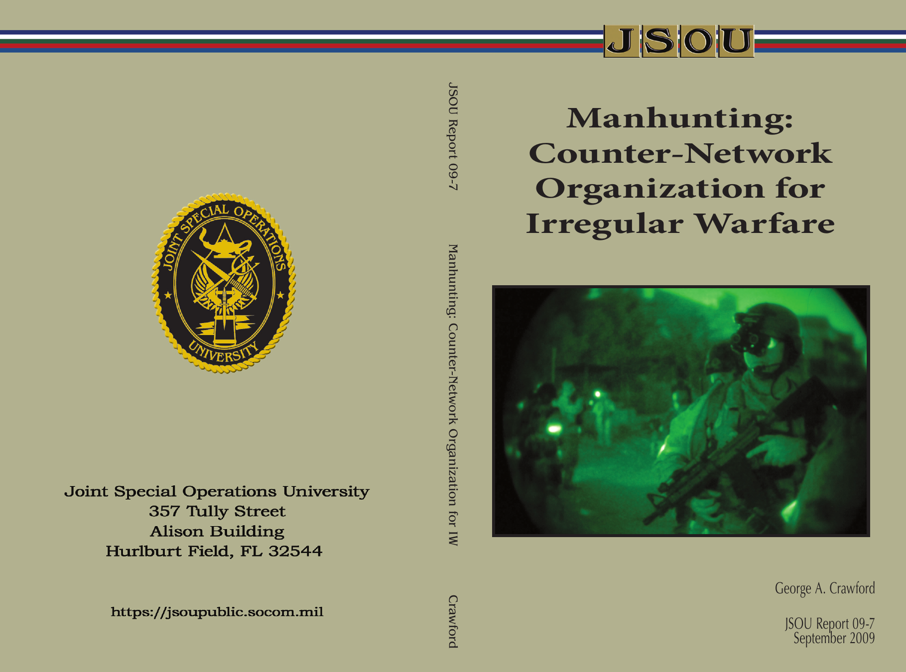 Manhunting: Counter-Network Organization for Irregular Warfare