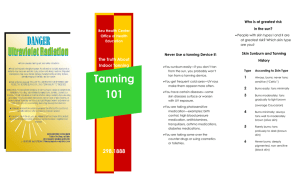 Tanning The Truth About Indoor Tanning