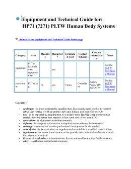 appendix c computer specifications high school pltw rh studylib net pltw purchasing manual 2016 2017 Food Purchasing Manual