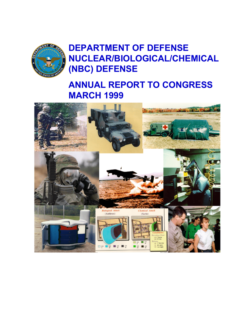 DEPARTMENT OF DEFENSE NUCLEARBIOLOGICALCHEMICAL (NBC