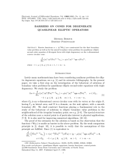 1998(1998), No. 11, pp. 1–8. Electronic Journal of Differential Equations, Vol.