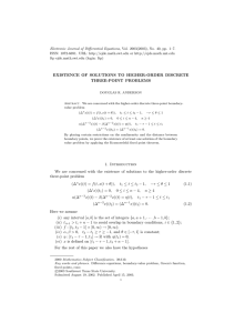 Electronic Journal of Differential Equations, Vol. 2003(2003), No. 40, pp.... ISSN: 1072-6691. URL:  or