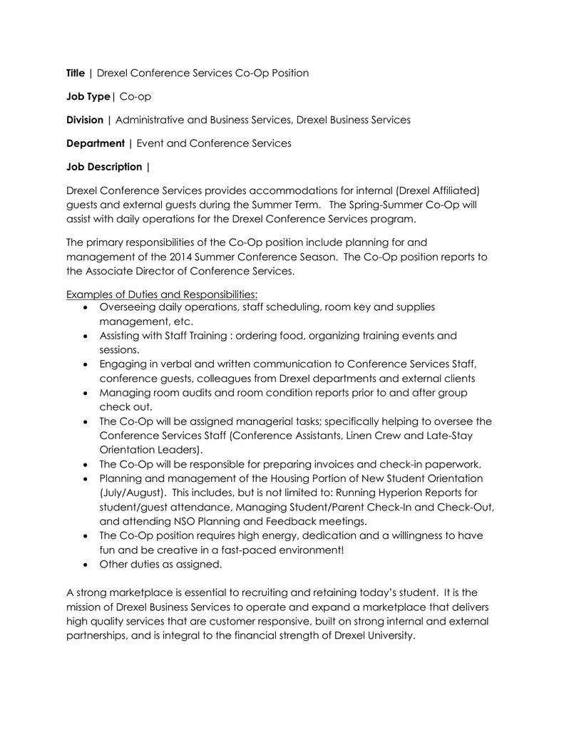 Title | Job Type| Division | Department |