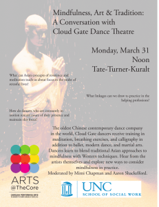 Mindfulness, Art & Tradition: A Conversation with Cloud Gate Dance Theatre
