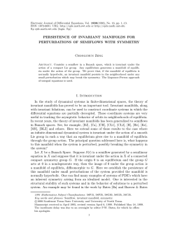 1998(1998), No. 16, pp. 1–13. Electronic Journal of Differential Equations, Vol.