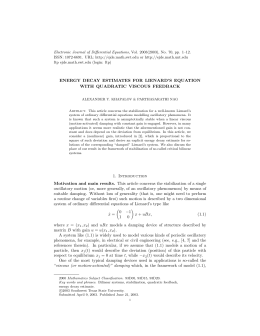 Electronic Journal of Differential Equations, Vol. 2003(2003), No. 70, pp.... ISSN: 1072-6691. URL:  or
