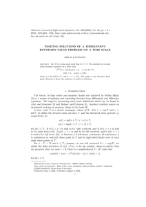 Electronic Journal of Differential Equations, Vol. 2003(2003), No. 82, pp.... ISSN: 1072-6691. URL:  or