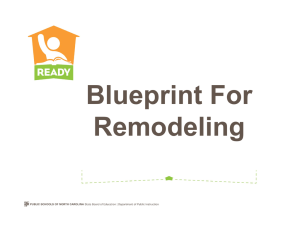 Blueprint For Remodeling