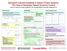 Saturation-Induced Instability in Electric Power Systems: