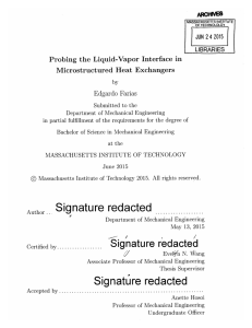 ARCGNVE JUN LIBRARIES Probing  the  Liquid-Vapor  Interface  in