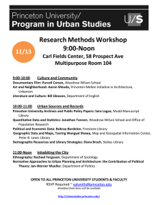 Research Methods Workshop 9:00-Noon  11/13