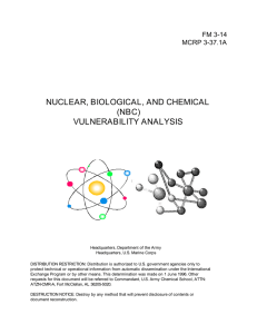 NUCLEAR, BIOLOGICAL, AND CHEMICAL (NBC) VULNERABILITY ANALYSIS FM 3-14