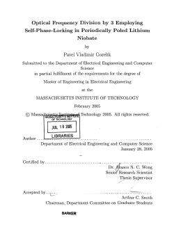 Self-Phase-Locking  in  Periodically  Poled  Lithium Niobate