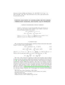 Electronic Journal of Differential Equations, Vol. 2011 (2011), No. 14,... ISSN: 1072-6691. URL:  or