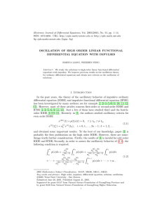 Electronic Journal of Differential Equations, Vol. 2005(2005), No. 91, pp.... ISSN: 1072-6691. URL:  or
