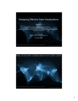 Designing Effective Data Visualizations