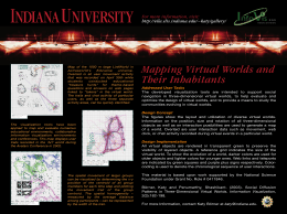 Mapping Virtual Worlds and For more information, visit: