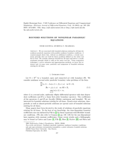 Eighth Mississippi State - UAB Conference on Differential Equations and... Simulations. Electronic Journal of Differential Equations, Conf. 19 (2010), pp....