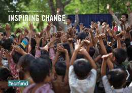 InspIrIng change Impact and LearnIng report 2015
