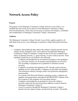 Network Access Policy