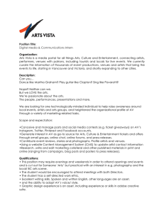 Position Title Digital Media & Communications Intern Organization