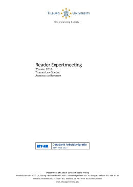 Reader Expertmeeting  INT-AR