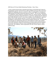 2009 Mexico/US Forest Health Monitoring Workshop – Borys Tkacz.