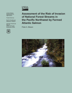 Assessment of the Risk of Invasion of National Forest Streams in