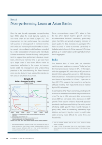 Non-performing Loans at Asian Banks Box A