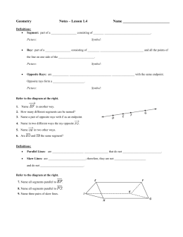 geometry segment 1 notes Quizlet provides notes chapter 5 math holt geometry activities, flashcards and games start learning today for free.