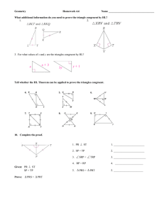 Geometry  Homework 4.6 Name __________________________________