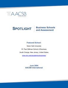S POTLIGHT  Business Schools