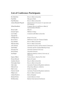 List of Conference Participants