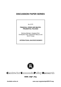 ABCD  DISCUSSION PAPER SERIES www.cepr.org