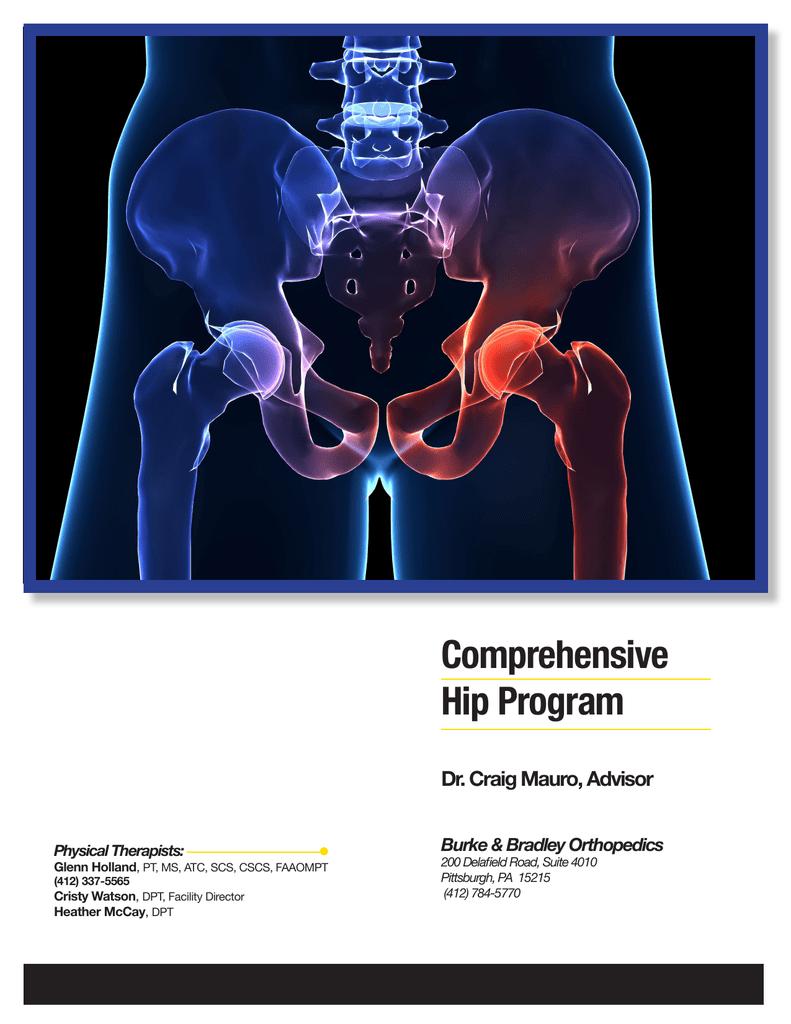 Comprehensive Hip Program Dr  Craig Mauro, Advisor Burke