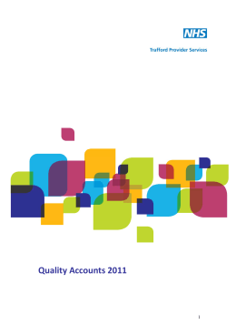 Quality Accounts 2011   1