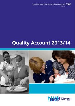 Quality Account 2013/14