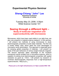 "Seeing through a different light – Experimental Physics Seminar  Sheng-Chiang ""John"" Lee"
