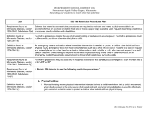 INDEPENDENT SCHOOL DISTRICT 196 Rosemount-Apple Valley-Eagan, Minnesota  Requirement found at