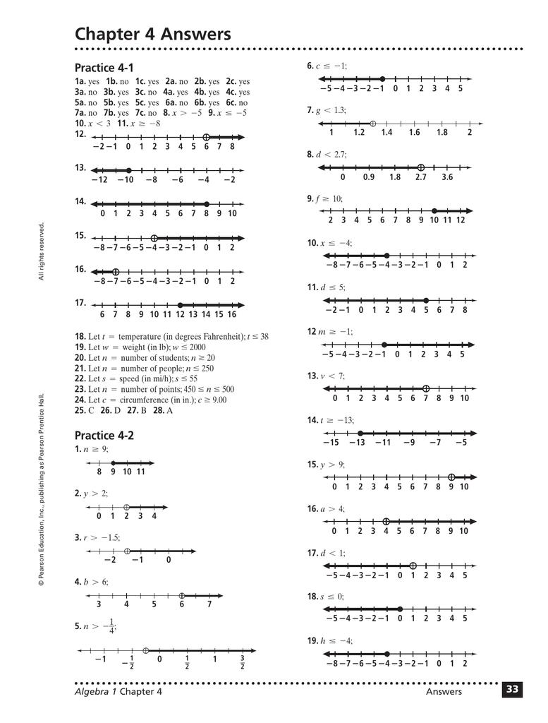 Workbooks practice workbook realidades 3 answers : Beautiful Prentice Hall Algebra 1 Worksheets Ideas - Worksheet ...