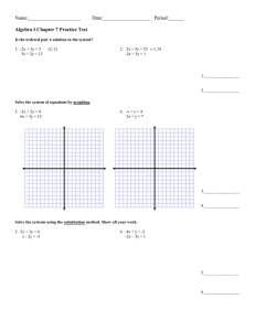Name:_____________________         Date:___________________ ...  Algebra I Chapter 7 Practice Test