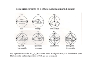 Point arrangements on a sphere with maximum