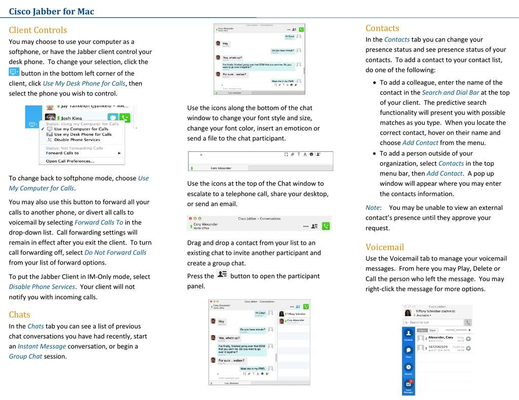 Download jabber for mac