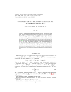 Bulletin of Mathematical Analysis and Applications ISSN: 1821-1291, URL: